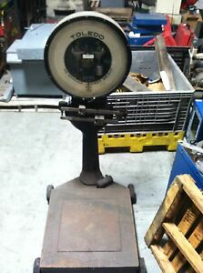 Used Toledo 2600 Pound Scale For Sale Style 8621fe