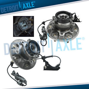 2 Front Wheel Bearing Hub Assembly 2004 2008 Chevy Colorado Gmc Canyon 4x4