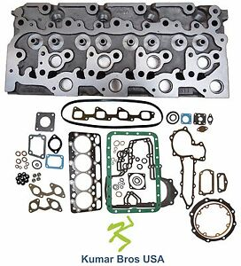 New Kubota V2003 Diesel Cylinder Head Full Gasket Set