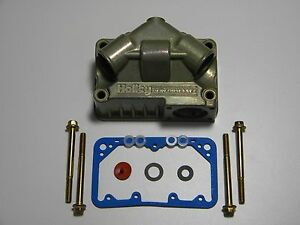 Holley Qft Aed 134 103 Kit Primary Float Bowl Fits 350 1250 Cfm Double Pumper