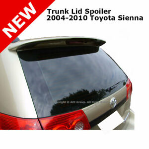 For Toyota Sienna 04 10 5 Door Roof Trunk Spoiler Rear Painted White 056