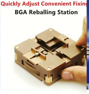 Bga Reballing Station For Direct Heated Stencils Reballing Kit With Handle Easy