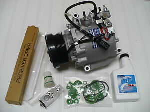 2006 2007 Honda Civic 1 8l 2 Door Coupe S Only New A C Ac Compressor Kit