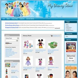 Disney Toys Store complete Affiliate Website Highly Profitable Online Business