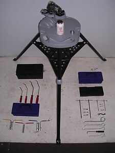 New Hydraulic Cylinder Rod Seal Installation Tool Kit Tri stand W vise Pick Set