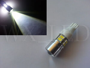 2 X 921 T15 Cree Samsung Smd High Power Chips Back Up Led Bulb Xenon White