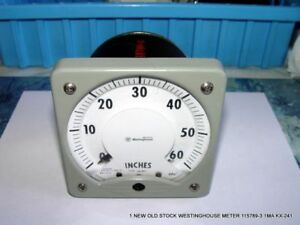 1 New Old Stock Westinghouse Meter 115789 3 1ma Kx 241 Free Shipping 2