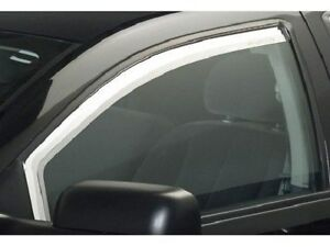 Chrome Trim Window Visors Fits Chevy Cruze 2011 2012 2013 2014 2pc