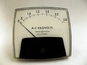 50 171031 pzvj1 Ao 92 Ge Potential Transformer Ac Kilovolts Panel Meter