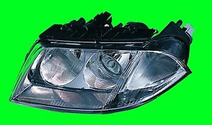 Volkswagen Passat 2001 2002 2003 2004 2005 Driver Left Side Halogen Headlight