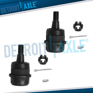 Both 2 Front Upper Ball Joints For Jeep Wrangler Cherokee Ram 1500 2500 4wd