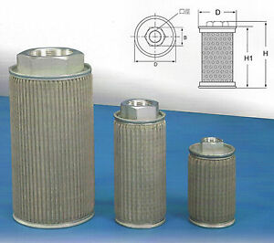 Hydraulic Suction Line Filter Mf 04 1 2 pt