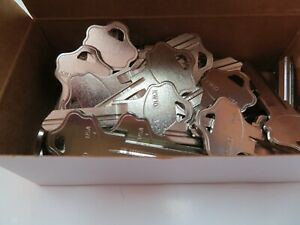 Lot 50 Kwikset Kw 10 Key Blanks Nickel Plated 6 Pin Made In Usa By Ilco