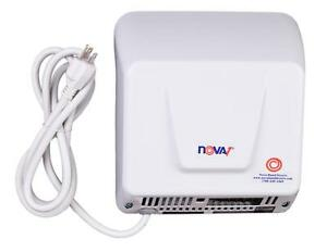 Nova 1 model 0833 With Wall Plug By World Hand Dryer 110v 120v Ada Compliant