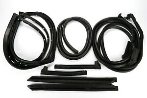 1973 1977 Early Corvette Body Weatherstrip Kit Coupe C3 New