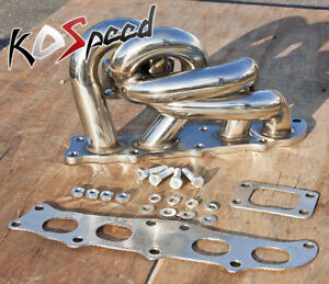 3s gte 3sgte For Toyota Mr2 Celica T3 Mount Stainless Turbo Exhaust Manifold