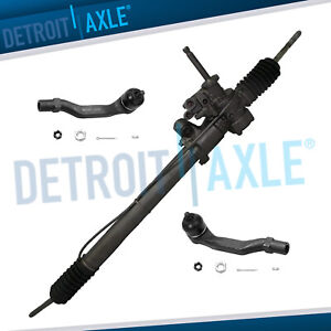 Power Steering Rack And Pinion 1992 1995 Honda Civic Inner Outer Tie Rod