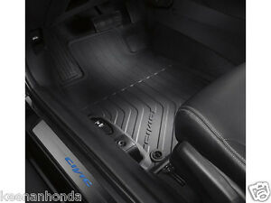 Genuine Oem Honda Civic 4dr Sedan Black All Season Floor Mats 2012 2015