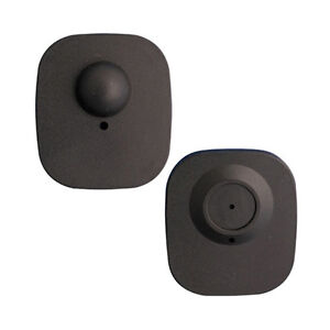 8 2mhz Checkpoint Compatible Mini Tag Black Style 1 000 Count New