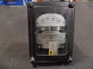 Used General Electric 701x27g130 Polyphase Watthour Meter Ds 53