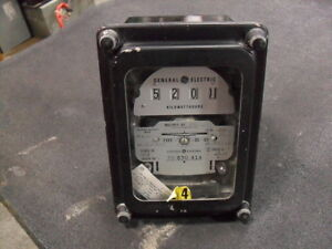 Used General Electric 700x63g895 Polyphase Watthour Meter Ds 63