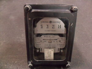 Used General Electric 700x63g293 Polyphase Watthour Meter Ds 63
