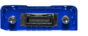 1964 1965 1966 Gmc Truck Usa 230 Radio New Am Fm Mp3 Aux Imput