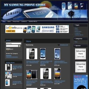 Samsung Smartphone Store Galaxy note ace android Highly Profitable Website