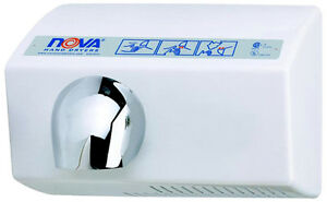 Nova 5 model 0212 By World Automatic Hand Dryer 120v Replaces Mod 0210