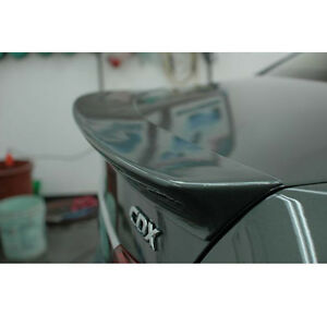 Trunk Lip Rear Spoiler Unpainted 1p For 08 09 10 11 12 Chevy Cruze