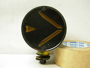 1930s 40s Signal Stat 704 Turn Signal Directional Light Signal stat 2 Sided Lamp