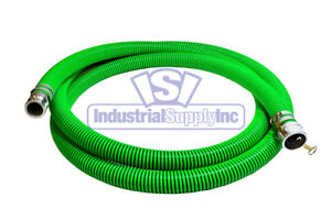 3 X 20 Epdm Rubber Trash Pump Water Suction Hose Assembly