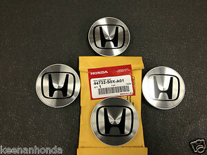 Genuine Oem Honda Aluminum Wheel Center Cap Set Of 4 Four