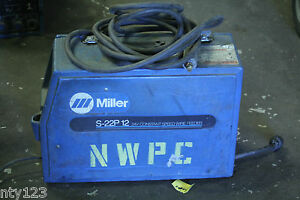 Miller Constant Speed Wire Feeder Model S22p 12