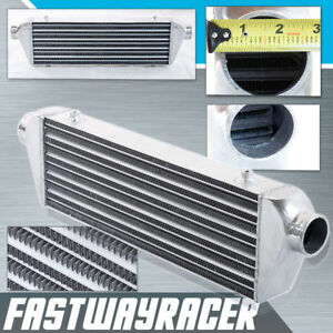 Universal 27 x7 x2 5 Front Mount Intercooler Polished Turbo Fmic 2 5 Inlet