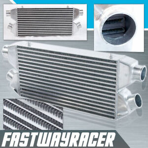 Universal 30 X11 X3 2 In 2 Out Twin Turbo Fmic Front Mount Intercooler 2 5