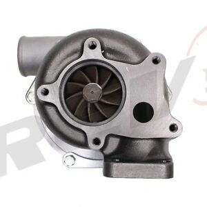 Universal T3 t4 T04e T3 Flange Compressor 50ar Exhaust 57ar Turbo Charger 1 8t