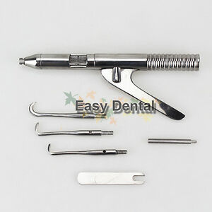 Automatic Spring Crown Remover 3 Tips Dental Surgical Instruments New