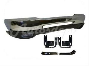 For 98 00 Ford Ranger Front Bumper Chr Valance Fog Light Bracket Reinforce Bar