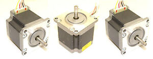 3 Nema 23 Japan Servo Stepper Motors 131oz in Cnc Mill Lathe Router Robot Reprap