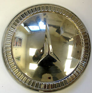 1960 Plymouth Dog Dish Hubcap New Old Stock 1943743