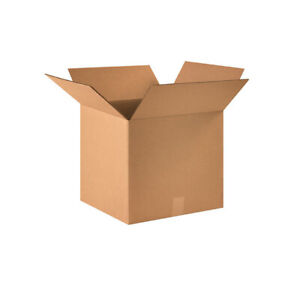 25 Corrugated Boxes 12 X 12 X 8 Cardboard Shipping Box Cartons