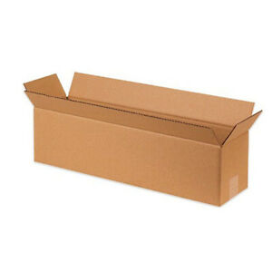 10 Long Corrugated Boxes 48 X 12 X 12 Shipping Mailing Box Cartons