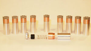 10 Pack 12 X 30mm Copper 9mm Laser Diode Mount Blank Modules