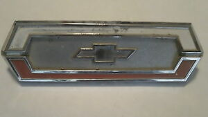 Chevrolet Nova Emblem Badge Script Trim Metal Vintage Name Plate