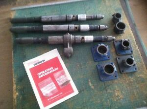3 Brookman Selfeeder Drills Fittings Sugino Dumore
