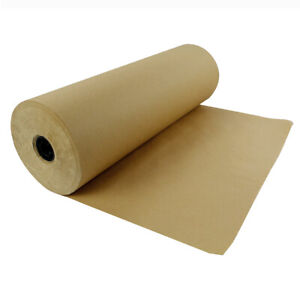 Kraft Paper Roll 600 x24 50lb Strength Brown Shipping Wrapping Cushioning Fill