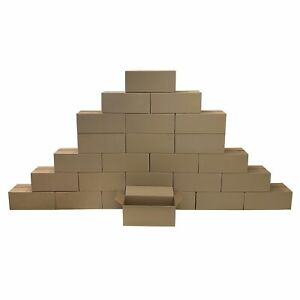 25 Long Corrugated Boxes 20 X 8 X 8 Cardboard Shipping Box Cartons