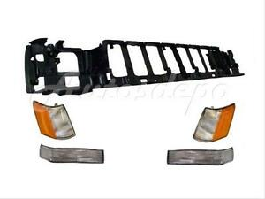 For 93 95 Jeep Grand Cherokee Header Mounting Panel Signal Side Marker Light 5p