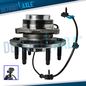 Front Wheel Bearing Hub For Chevy Silverado Gmc Sierra 1500 Suburban Yukon 2wd